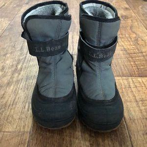 LL Bean Winter Boots - Size 9 Toddler